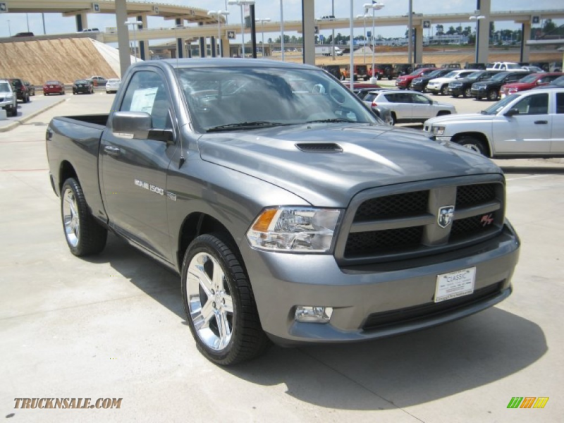 2011 Ram 1500 Sport R/T Regular Cab - Mineral Gray Metallic / Dark ...
