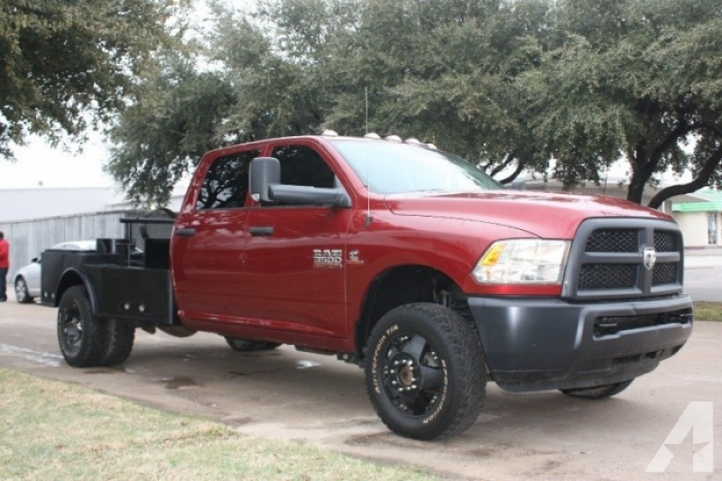 2013 Dodge Ram 3500 4WD CrewCab Flatbed Diesel for sale in Grand ...