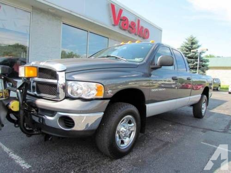 2003 Dodge Ram 3500 Pickup Truck SLT for sale in Canonsburg ...