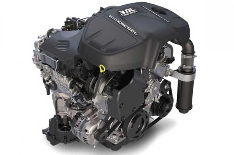 ... of the 3.0-liter EcoDiesel V-6 engine has not been released yet