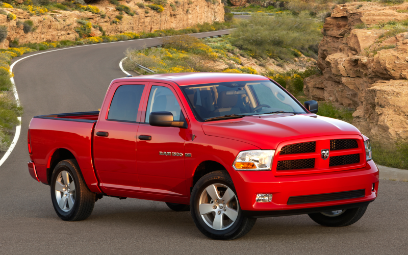 2012 Ram 1500 Express Crew Cab Front View Photo 24
