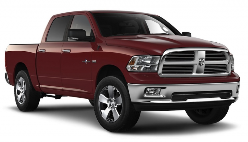 2012 Ram 1500 Lone Star 10th Anniversary Front 3/4 View