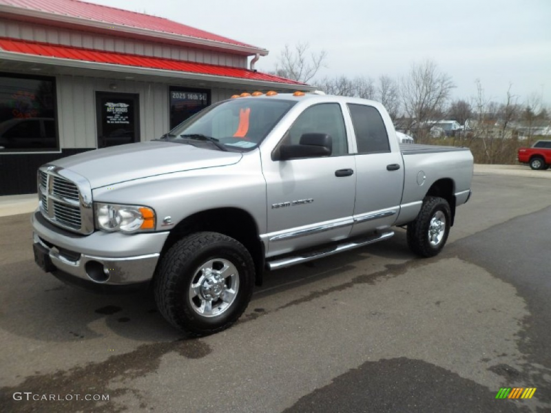 2005 Dodge Ram 3500 Laramie Quad Cab 4x4 Exterior Photos