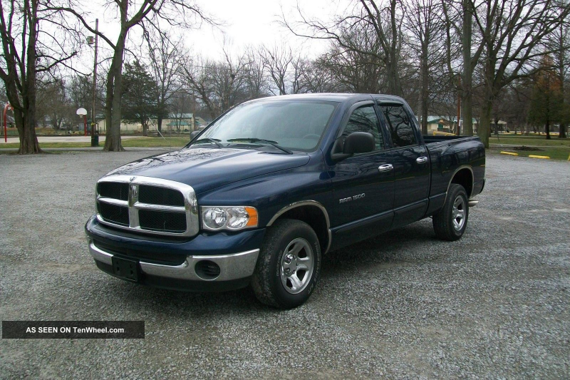2005 Dodge Ram 1500 Quad Cab Short Bed 2wd Ram 1500 photo 6