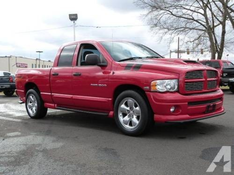2005 Dodge Ram 1500 Truck Quad Cab SLT Quad Cab Hemi for sale in ...
