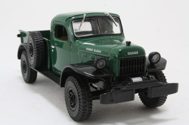 toy car 1946 dodge power wagon green black makers model number ytc02 m ...