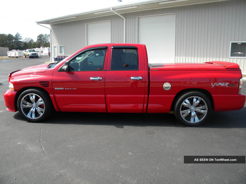 2005 Dodge Ram Srt - 10 Viper Motor Lots Of Mods Only 72k Ram 1500 ...
