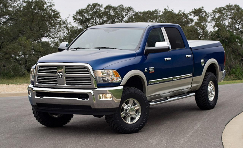 2010 Dodge Ram Heavy Duty Chromed