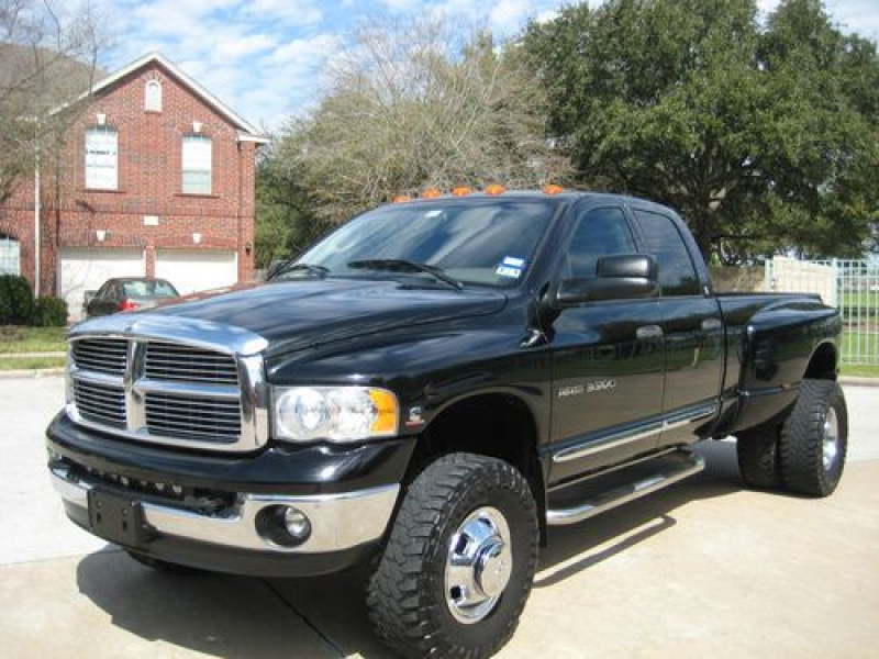 2004 DODGE RAM 3500 4X4 TURBO DIESEL 5.9L ENGINE 6SPD MANUAL LARAMIE ...