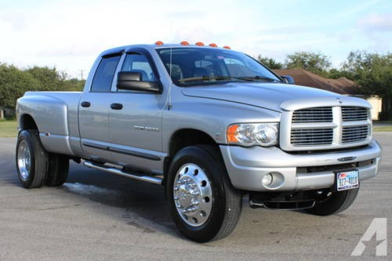 2004 Dodge RAM 3500 4x4 Dually Diesel Quad Laramie **ONLY 44K ORIG MI ...
