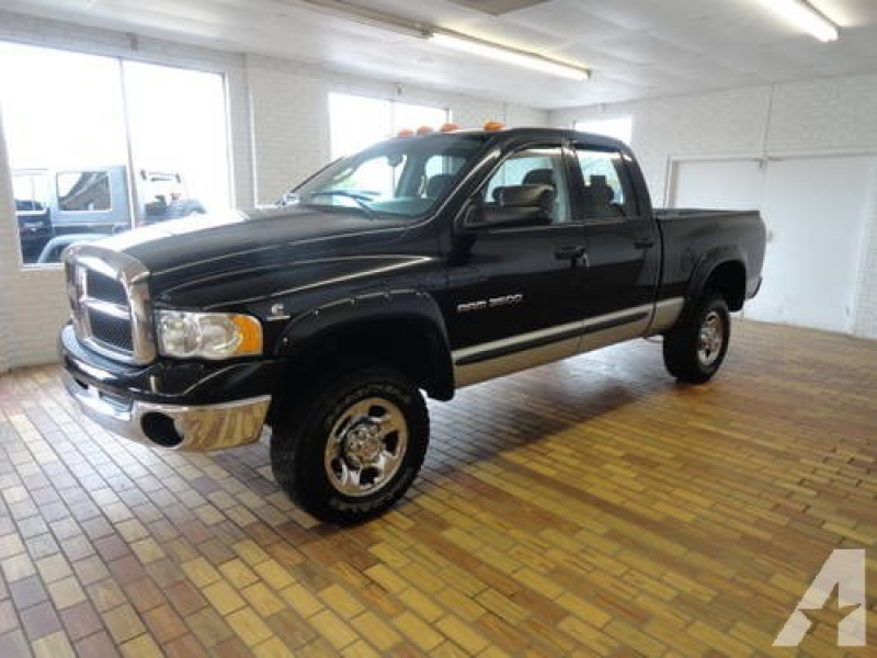 2004 DODGE RAM 3500 5.9 TURBO DIESEL for sale in Malvern, Ohio