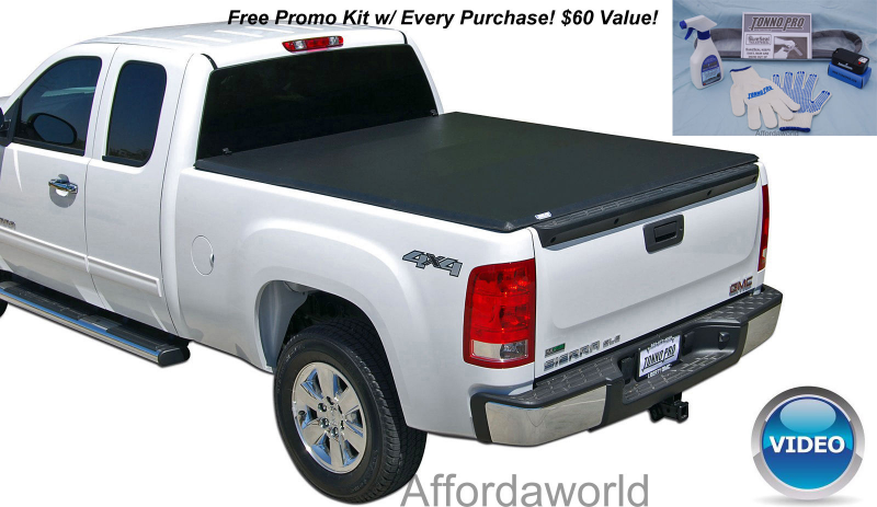 ... Tonneau Folding Bed Cover Tonno Pro Dodge Ram 6.4ft Long Bed #42-205
