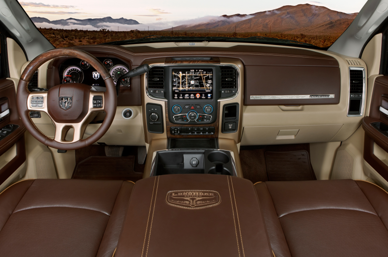What's In The 2014 Ram 1500 Laramie Longhorn?