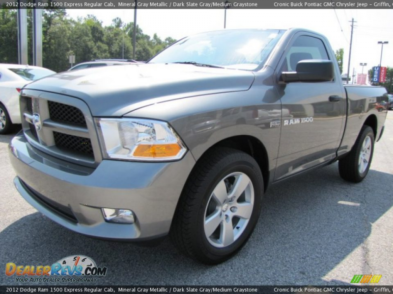 2012 Dodge Ram 1500 Express Regular Cab Mineral Gray Metallic / Dark ...
