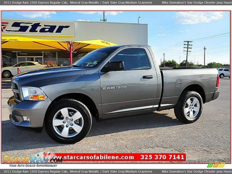 2011 Dodge Ram 1500 Express Regular Cab Mineral Gray Metallic / Dark ...