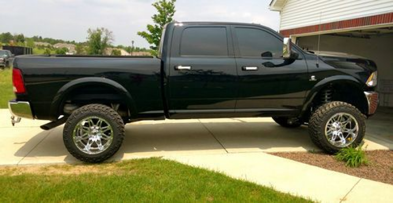 2012 Lifted Dodge Ram 2500 HIGH OUTPUT Cummins Diesel, 20x12 Hostages ...