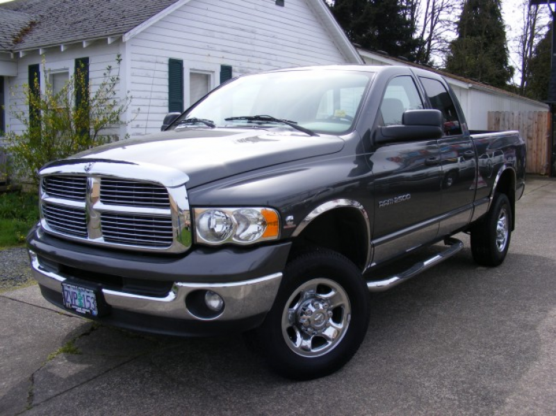 SOLD* 2003 Dodge Ram 2500 SLT Crew Cab Cummins 5.9L High Output Turbo ...