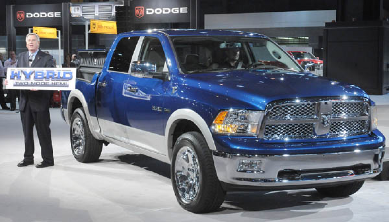 ram plug in hybrid electric vehicle two mode hybrid transmission