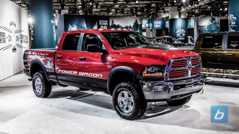 ... ram displayed their latest off road offering the new ram power wagon