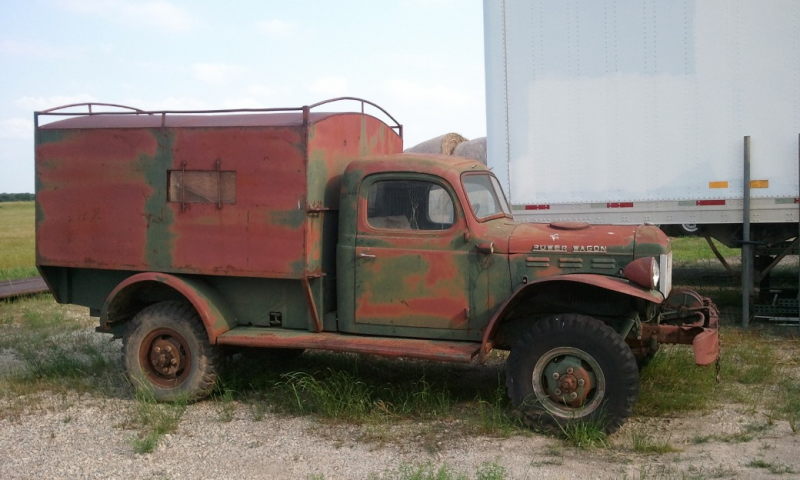 1946 WDX Dodge Power Wagon