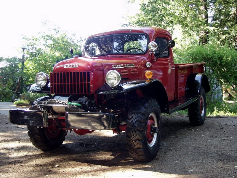 Classic Trucks History and Pictures - 1962 Dodge Power Wagon