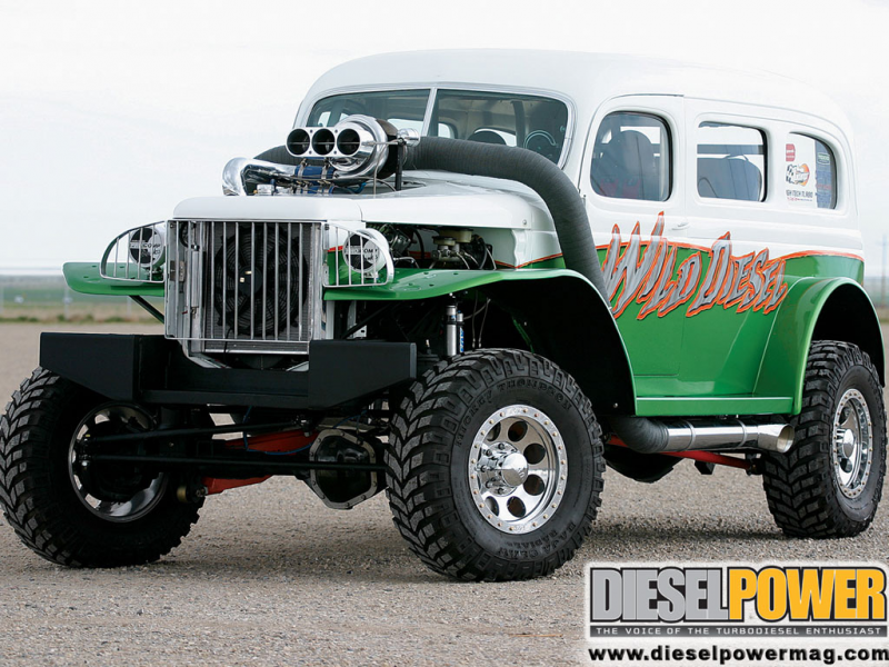 Old Dodge Power Wagon