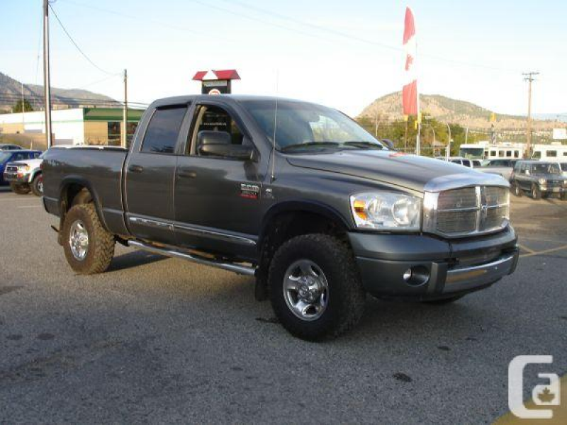 2007 Dodge Ram 3500 Laramie Diesel - $24900 in Vancouver, British ...