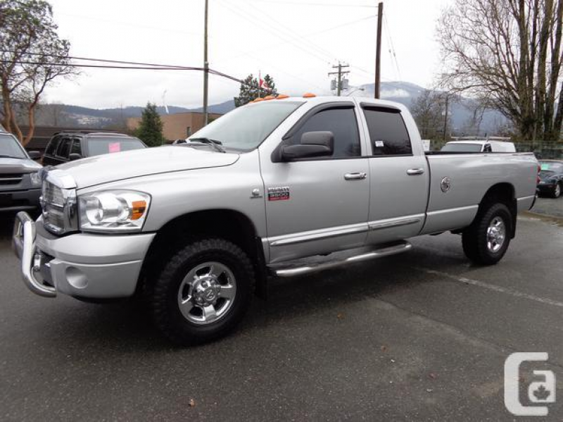 2007 Dodge ram 3500 cummins turbo diesel laramie in Nanaimo, British ...