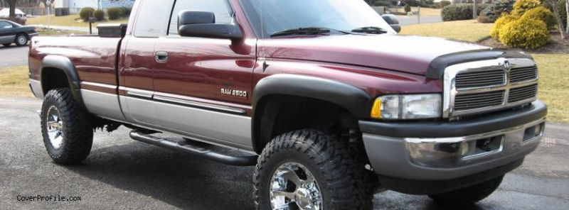 dodge Ram 2500 Truck facebook timeline profile cover picture