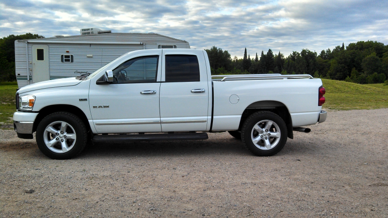 Picture of 2008 Dodge Ram Pickup 1500 SLT Quad Cab 4WD, exterior