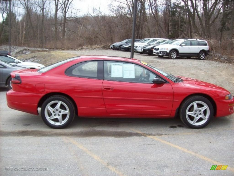 Indy Red 1997 Dodge Avenger ES Coupe Exterior Photo #47045487