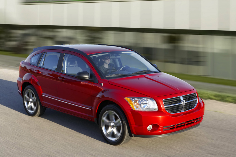2011 Dodge Caliber front view