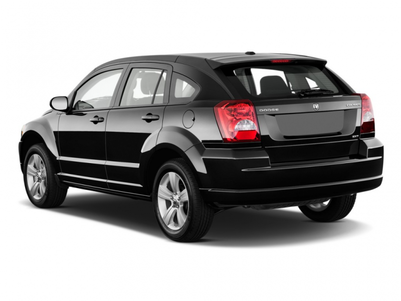 2010 Dodge Caliber 4-door HB Mainstreet Angular Rear Exterior View