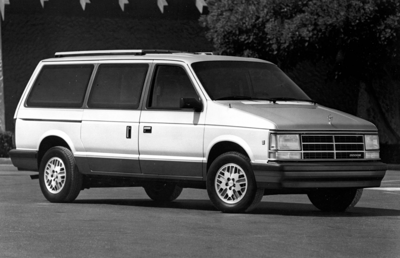 Dodge Grand Caravan is the minivan that started it all