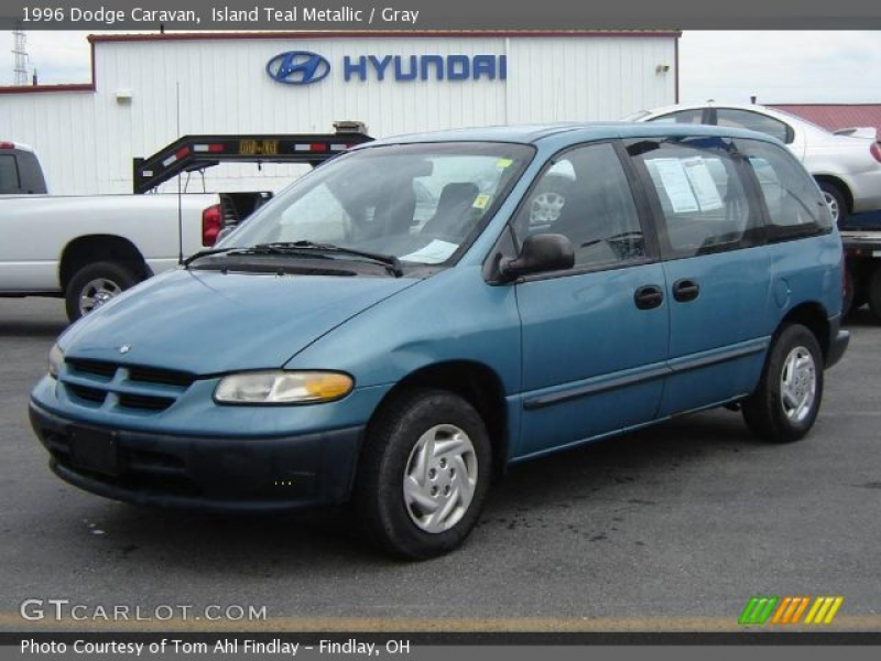 1996 Dodge Caravan in Island Teal Metallic. Click to see large photo.