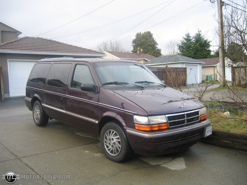 Photo of a 1993 Dodge Grand Caravan SE (Carrie)
