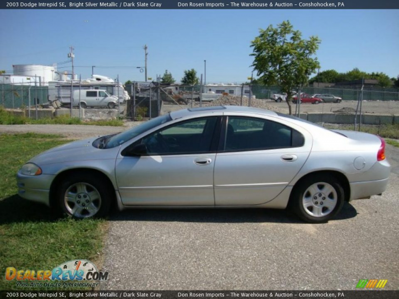 2003 Dodge Intrepid SE Bright Silver Metallic / Dark Slate Gray Photo ...