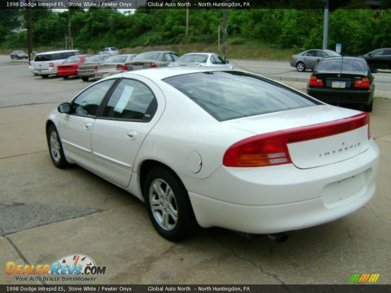 1998 Dodge Intrepid ES Stone White / Pewter Onyx Photo #6