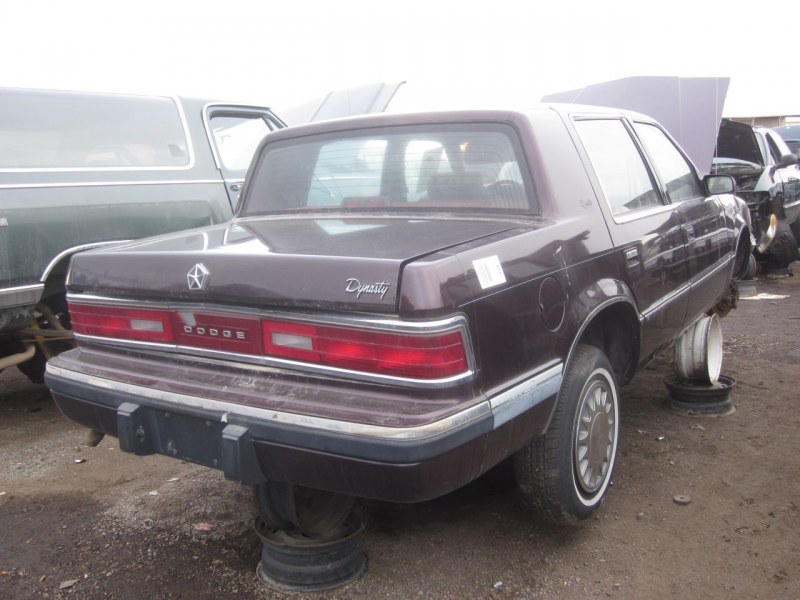 1993 Dodge Dynasty Down On The Junkyard - Picture Courtesy of Phillip ...