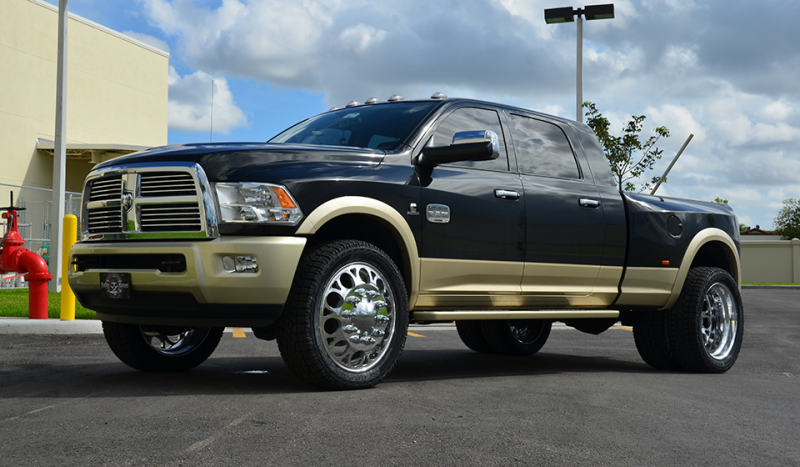 2011 DODGE RAM 3500 Dual Rear Wheel
