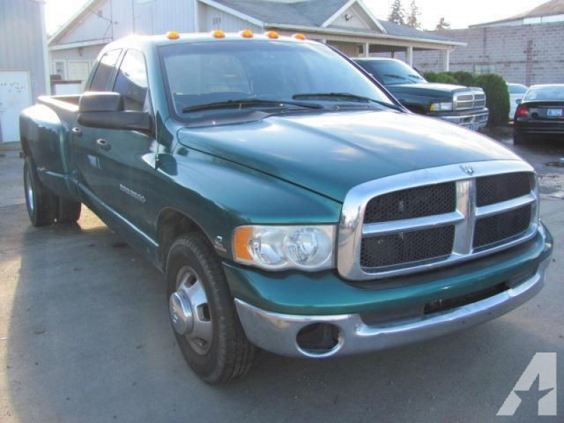 Options Included: N/A2003 DODGE RAM 3500 DUALLY, 6 SPEED MANUAL, 5.9 L ...