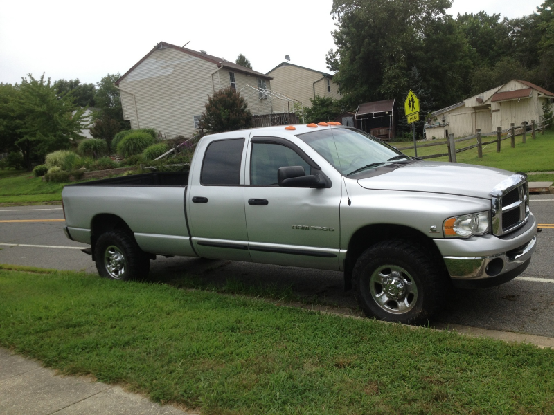 2003 Dodge Ram Pickup 3500 ST Quad Cab LB DRW 4WD, Picture of 2003 ...
