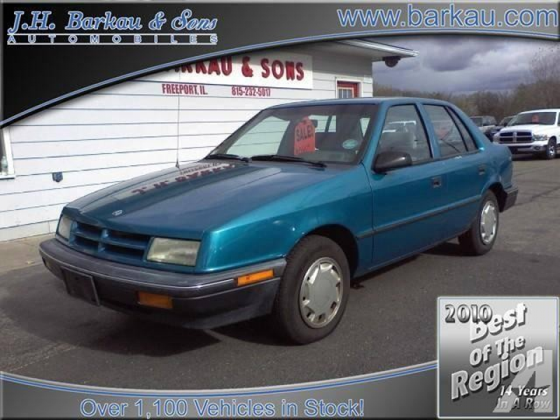 1991 Dodge Shadow America for sale in Cedarville, Illinois