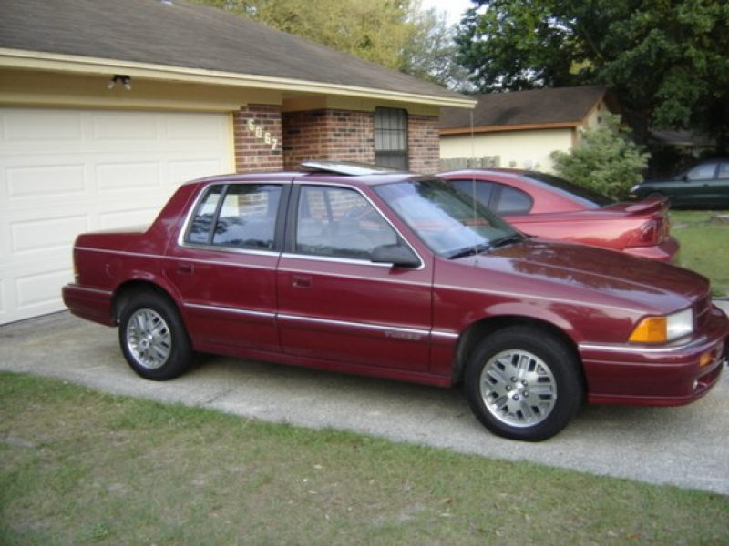 spirit 1991 dodge spirit es turbo 5 speed 1 of 318