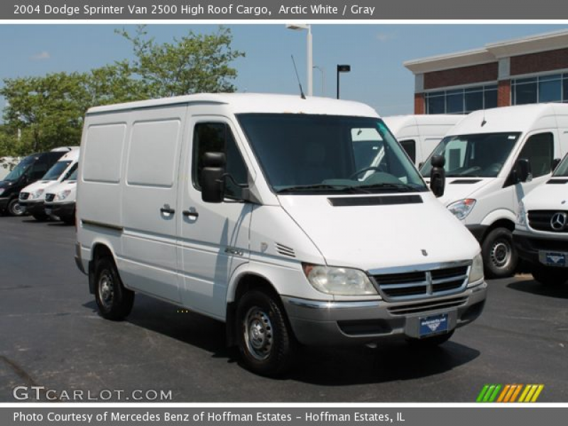 2004 Dodge Sprinter Van 2500 High Roof Cargo in Arctic White. Click to ...