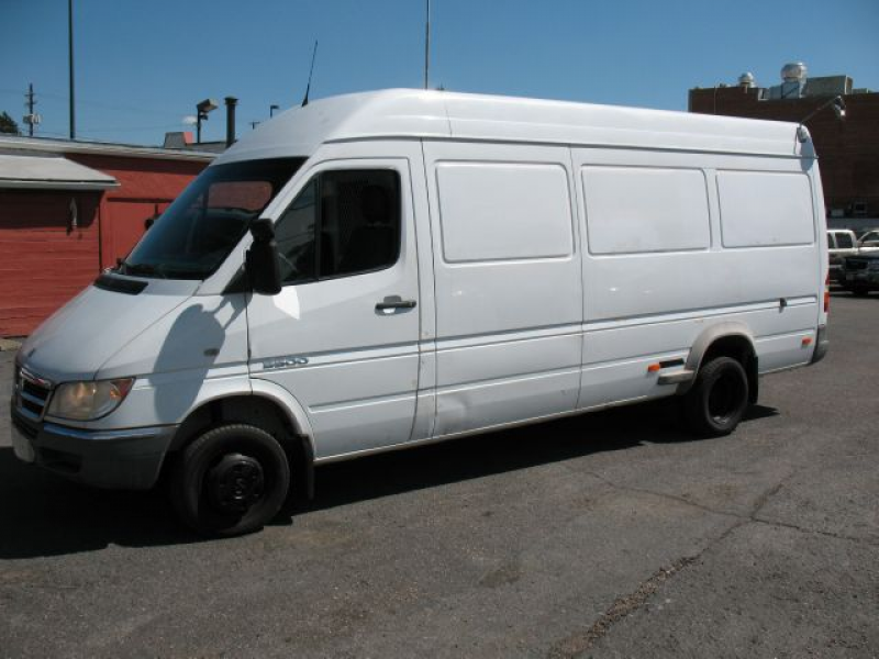 Used 2004 Dodge Sprinter 3500 for sale. | White 2004 Dodge Sprinter ...