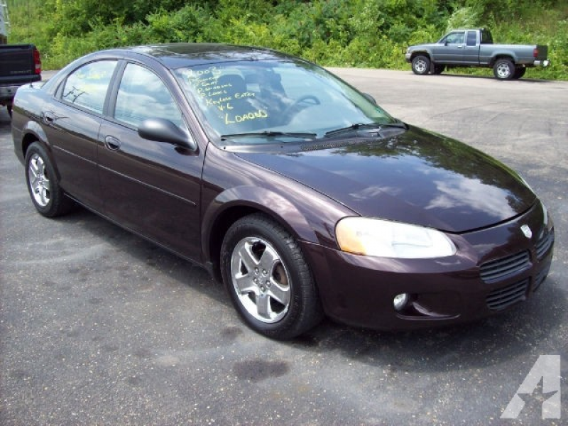 2003 Dodge Stratus ES for sale in Zanesville, Ohio