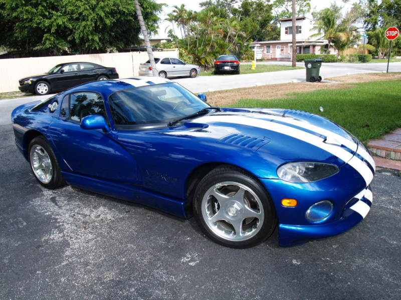 1998 Dodge Viper 2 Dr GTS Coupe picture