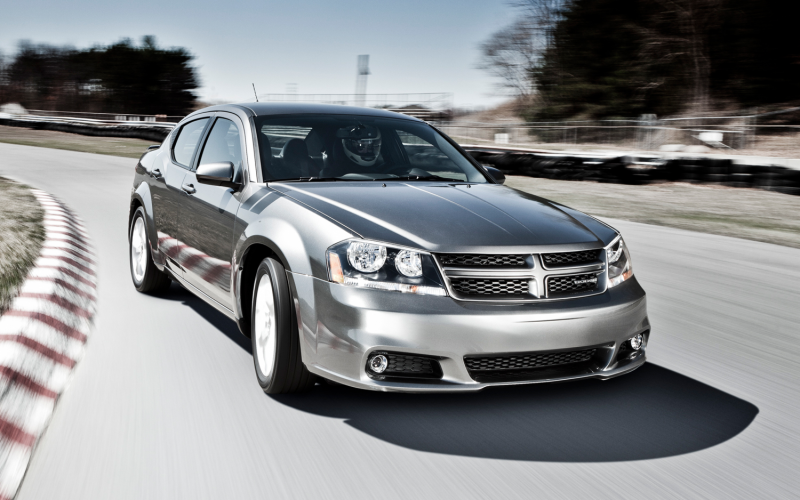 2012 Dodge Avenger R T Three Quarters Front View