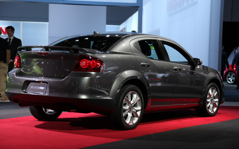 2012 Dodge Avenger Rt Rear Three Quarters